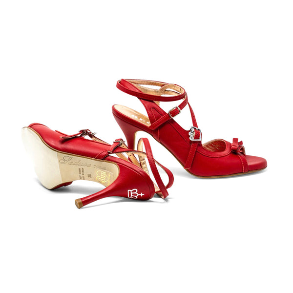 Size 6 - Pigalle in Red Leather - Regina