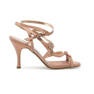 Size 5 - Pigalle in Dusty Rose and Transparent - Regina