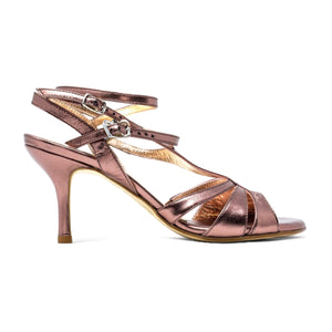 Size 5 - Recoleta Twins in Metallic Lilac Leather - Regina