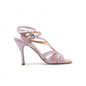 Size 8 - Recoleta Twins in Pearly Lilac Leather - Regina