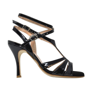 Size 5 - Recoleta Twins Slim in Black Patent Leather - Regina