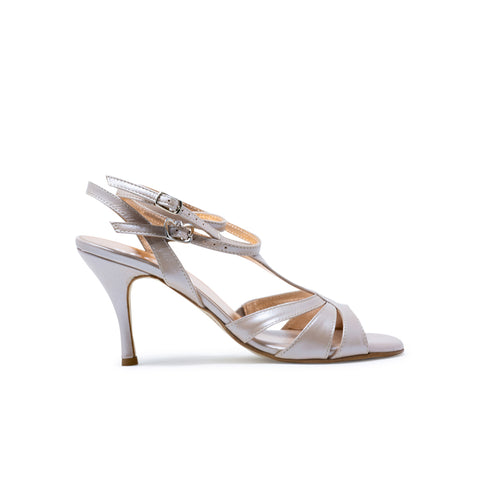 Size 9 - Recoleta Twins in Pearly Eyeshadow Leather - Regina