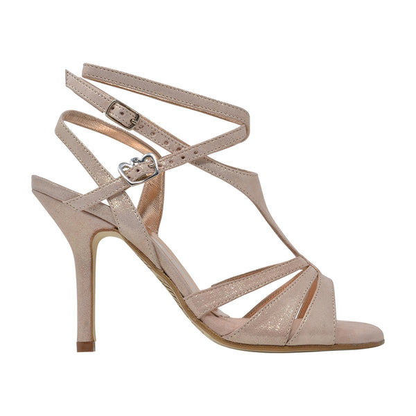Size 9 - Recoleta Twins in Softest Pink Shimmer - Regina