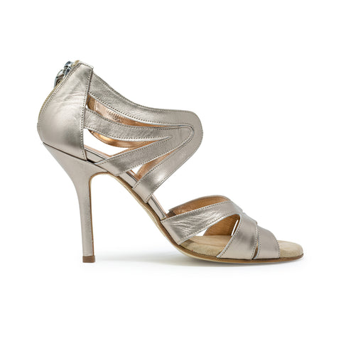 Size 6 - Riccione in Pearly Eyeshadow Leather - Regina