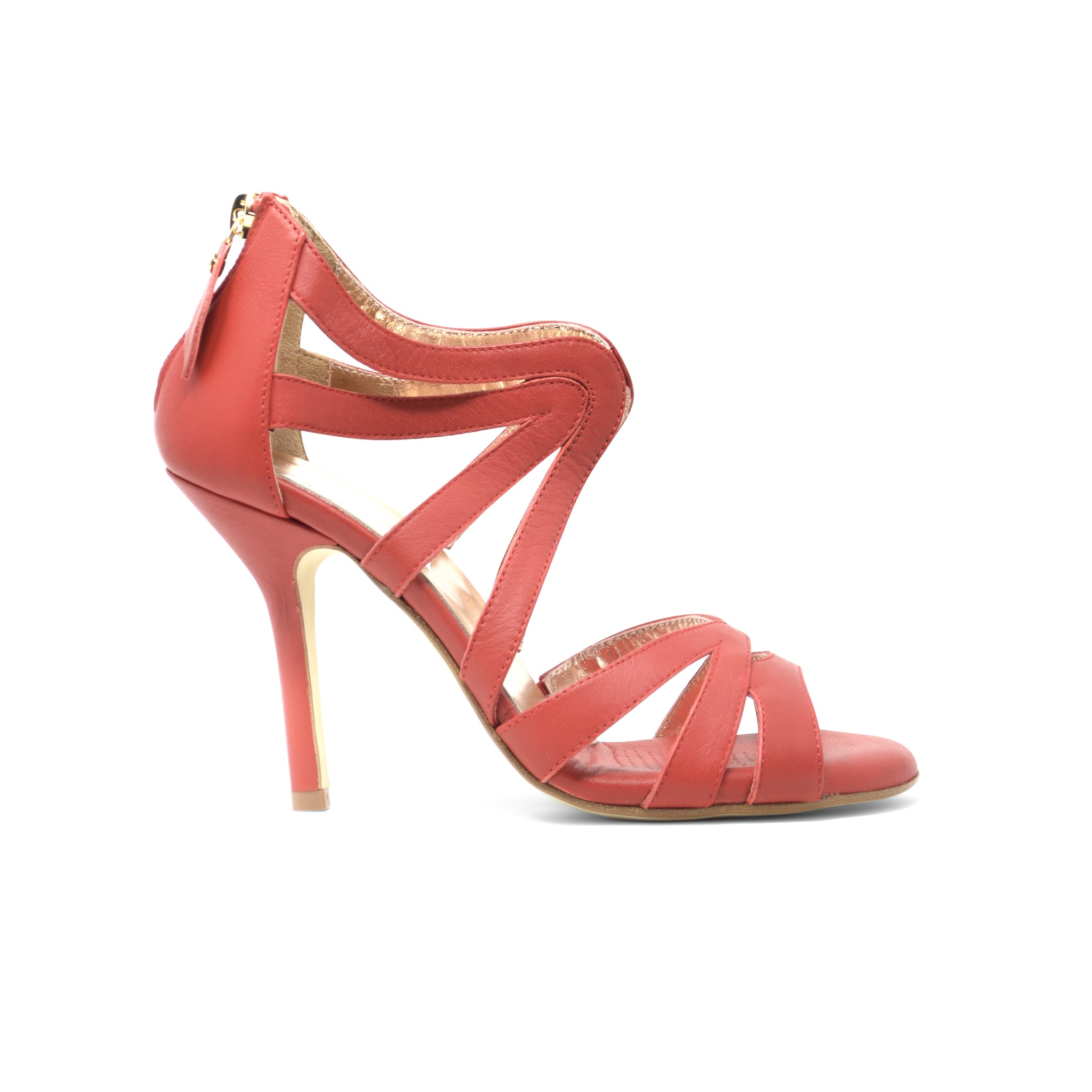 Size 6 - Riccione in Red Leather - Regina