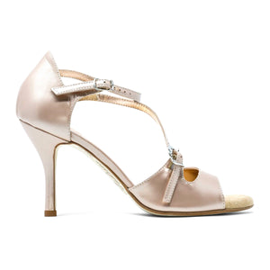 Size 7.5 - Venere Slim  in Sahara Leather - Regina