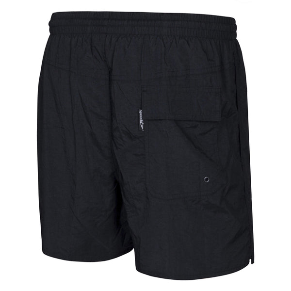 Speedo Mens Black Basic Watershorts - Bondi Icebergs Official Merchandise