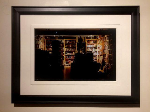 1 am Bookshop (framed) - Andrew Moor Photography
