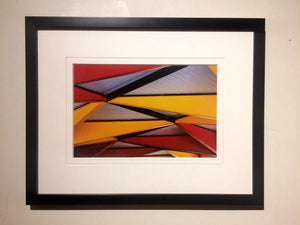Abstract Roof (framed) - Andrew Moor Photography