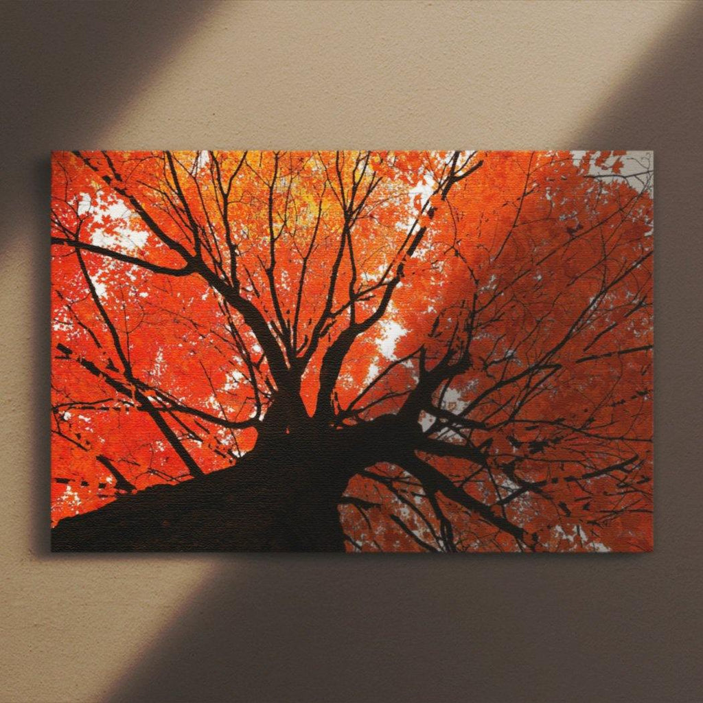 Autumn Maple Canvas Square - Andrew Moor Photography