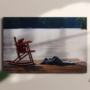 Bear on Vacation - Canvas Square - Andrew Moor Photography