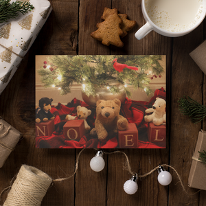 Biff and Friends - Happy Holidays Card - Andrew Moor Photography