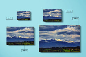 Cascades Mountains Canvas Compare Main - Andrew Moor Photography