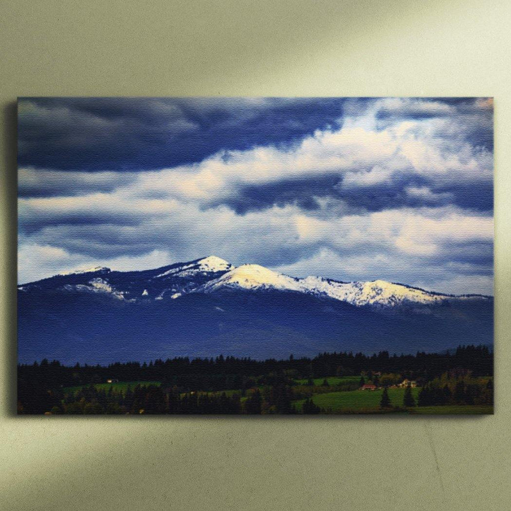 Cascades Mountains Canvas Square - Andrew Moor Photography
