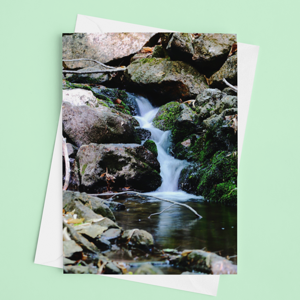 Waterfall Card - Andrew Moor Photography
