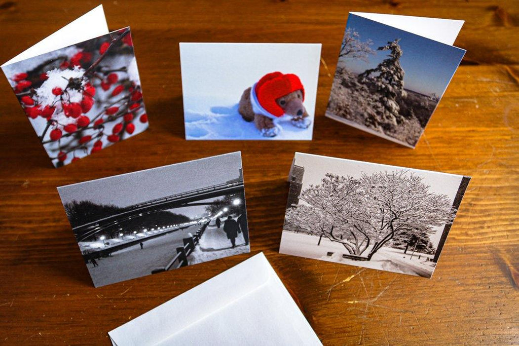 Winter Card Collection - Andrew Moor Photography
