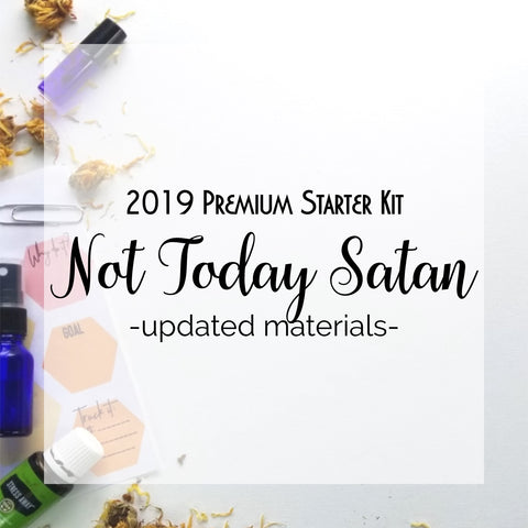 2019 Not Today Satan Updated Materials