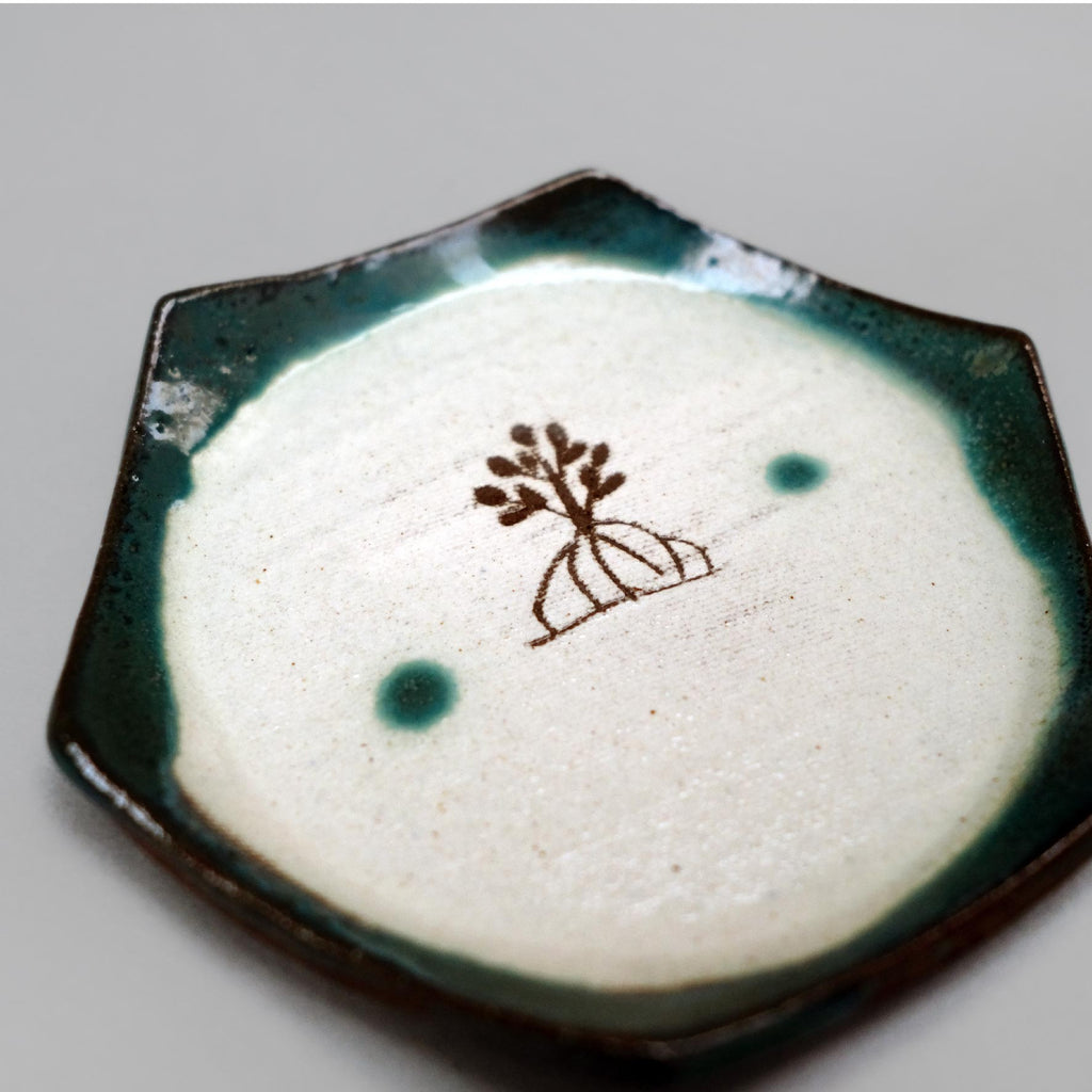 Handcrafted Okinawa Ocean Blue Tea Cup