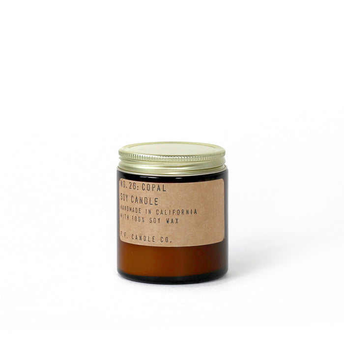 No. 26: Copal - 3.5 Oz Standard Soy Candle