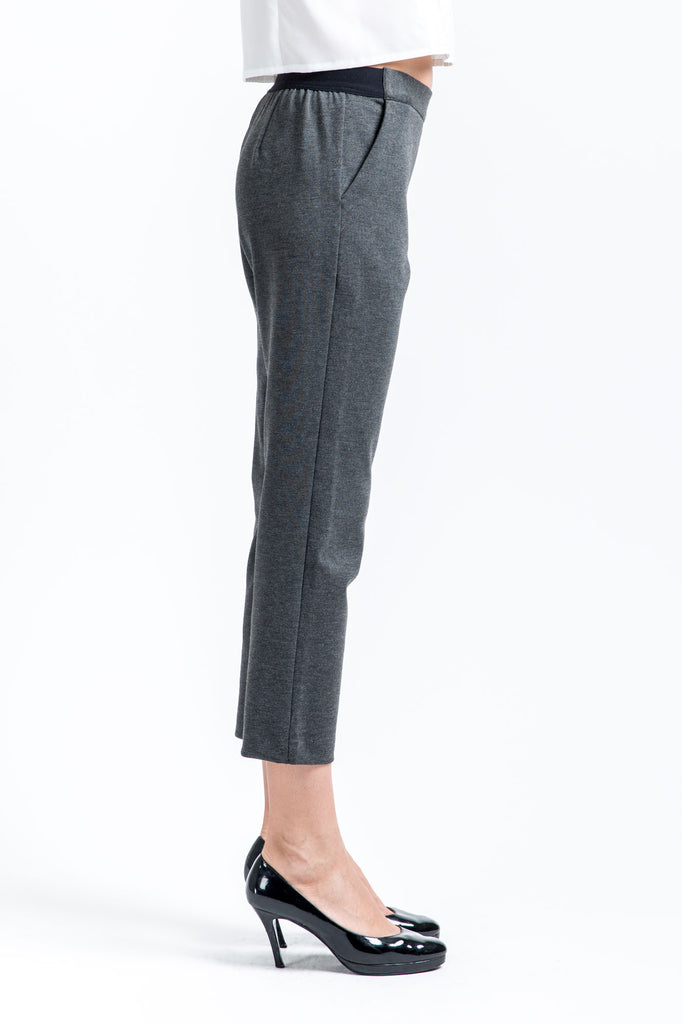Maxi Stretch Pants - Stone Grey