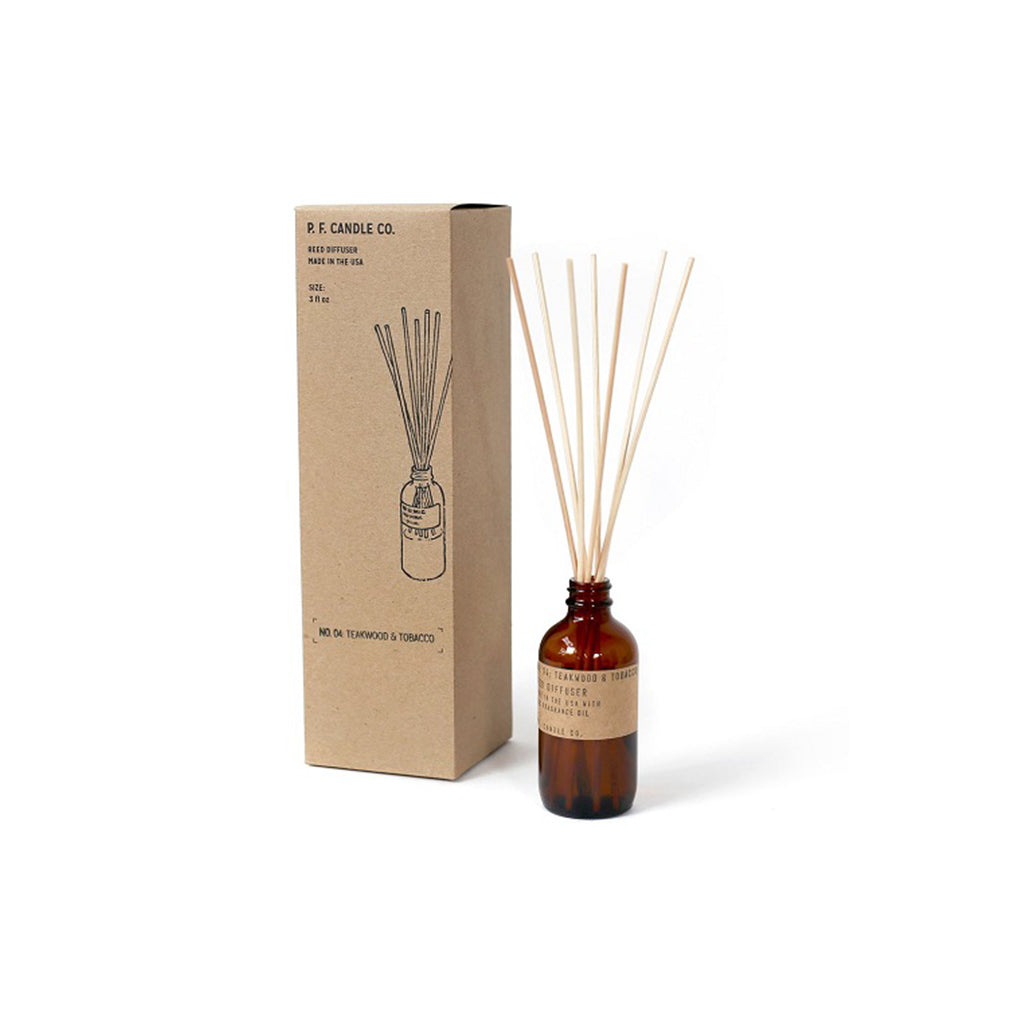 No. 04: Teakwood & Tobacco Reed Diffuser