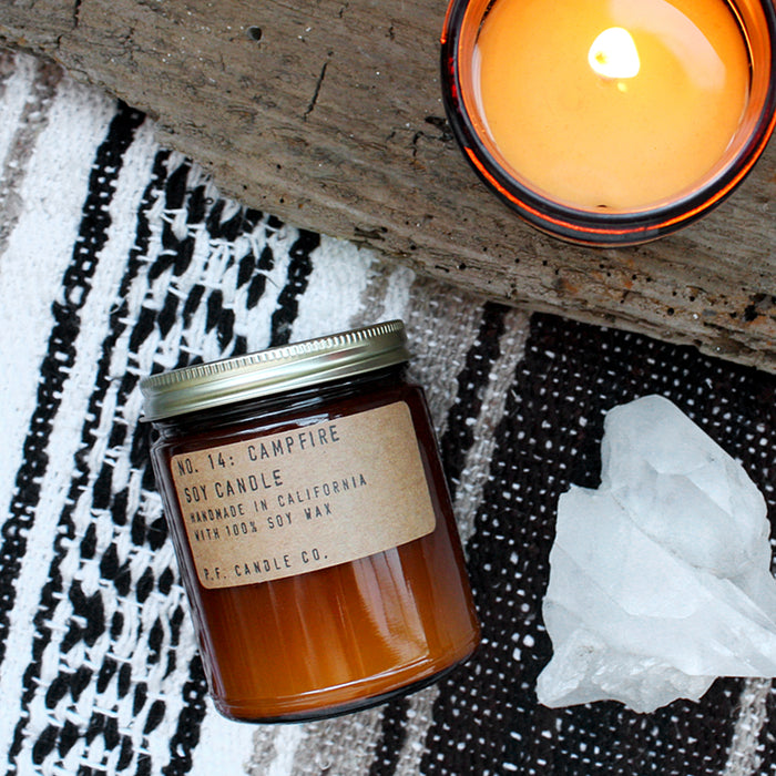 No. 14: Campfire - 7.2 Oz Standard Soy Candle