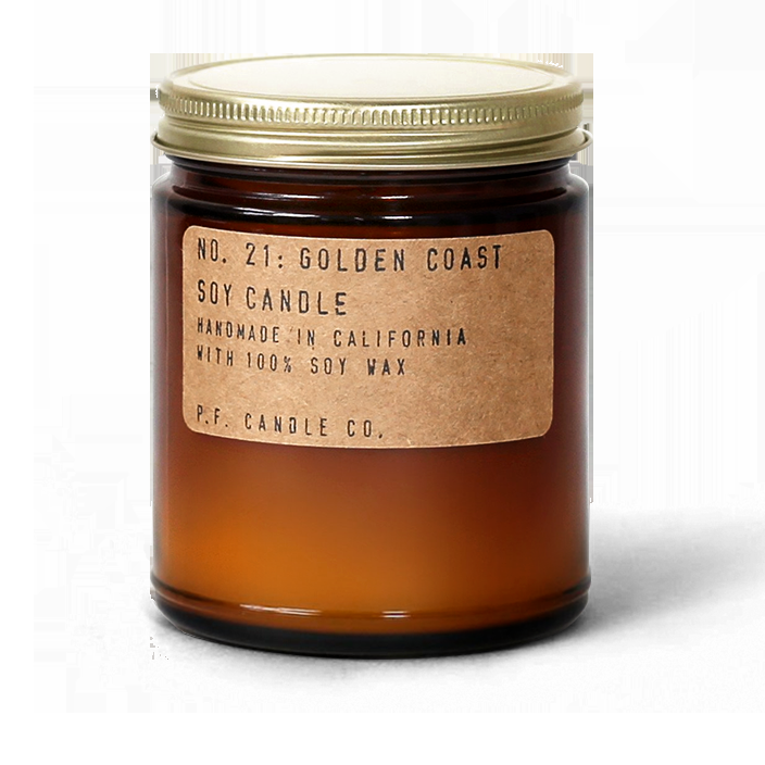 NO. 21: GOLDEN COAST - 7.2 OZ STANDARD SOY CANDLE