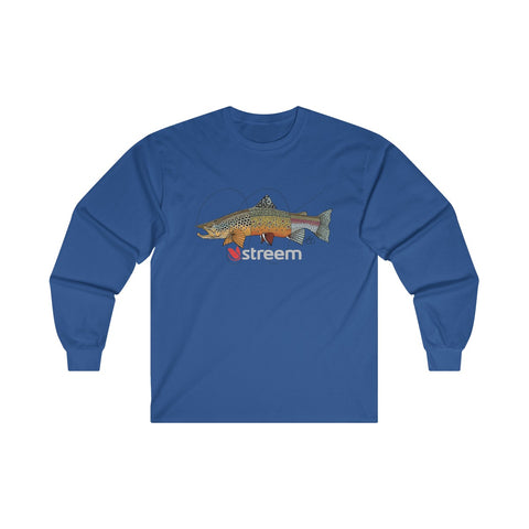 Tri-Trout Ultra Cotton Long Sleeve Tee