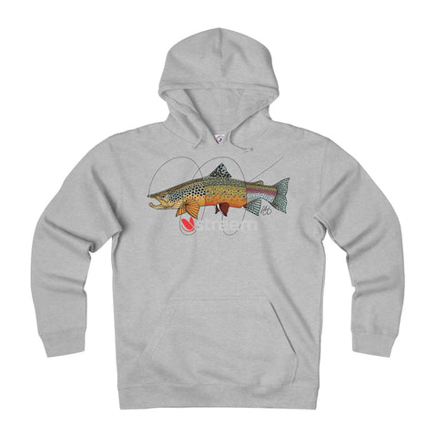 Tri-Trout Ultra Heavyweight Fleece Hoodie