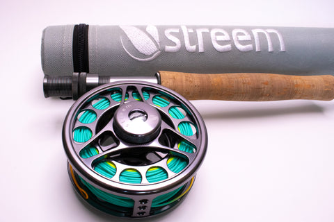 Brook Series Fly Rod, Reel, Line - Combo