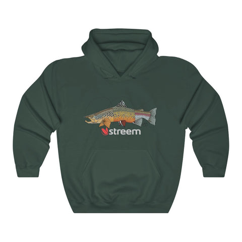 Tri-Trout Heavy Blend Hooded Sweatshirt
