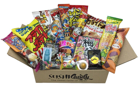 Sushi candy dagashi subscription box February set