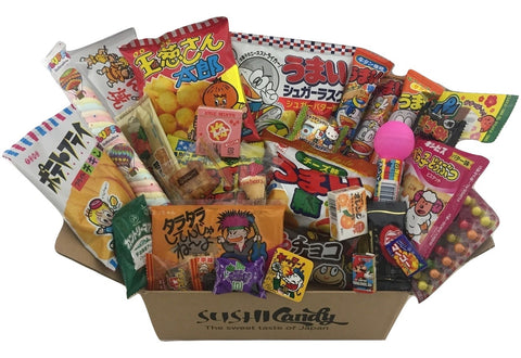 Sushi candy subscription box July & August holiday set