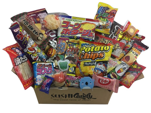 Dagashi Subscription box Sushi candy October box