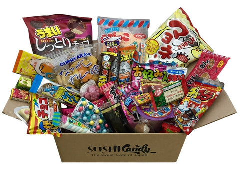 Sushi candy subscription box December set