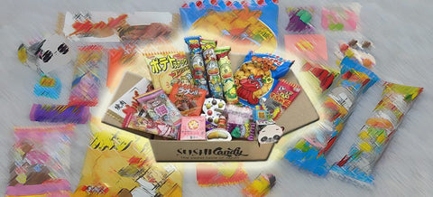 Sushi candy subscription set