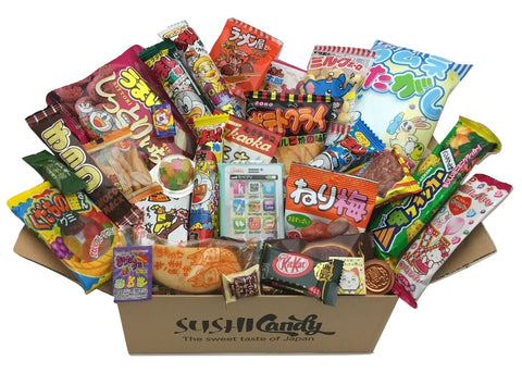 Sushi candy subscription box November set Dagashi from Japan