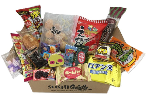 Japanese treats assortment box 20 items