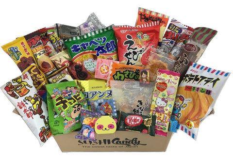 Japanese treats assortment box 30 items