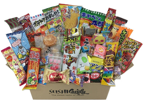 Japanese treats assortment box 40 items