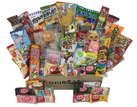 Japanese treats assortment box 50 items