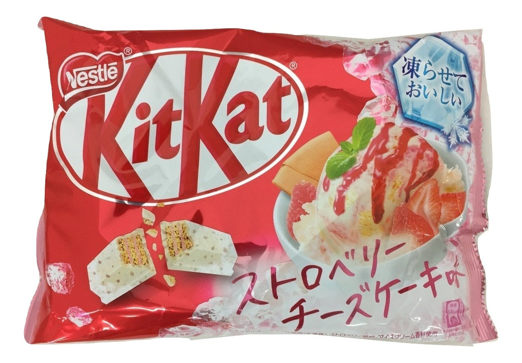 Japanese kit kat Strawberry cheese cake flavor