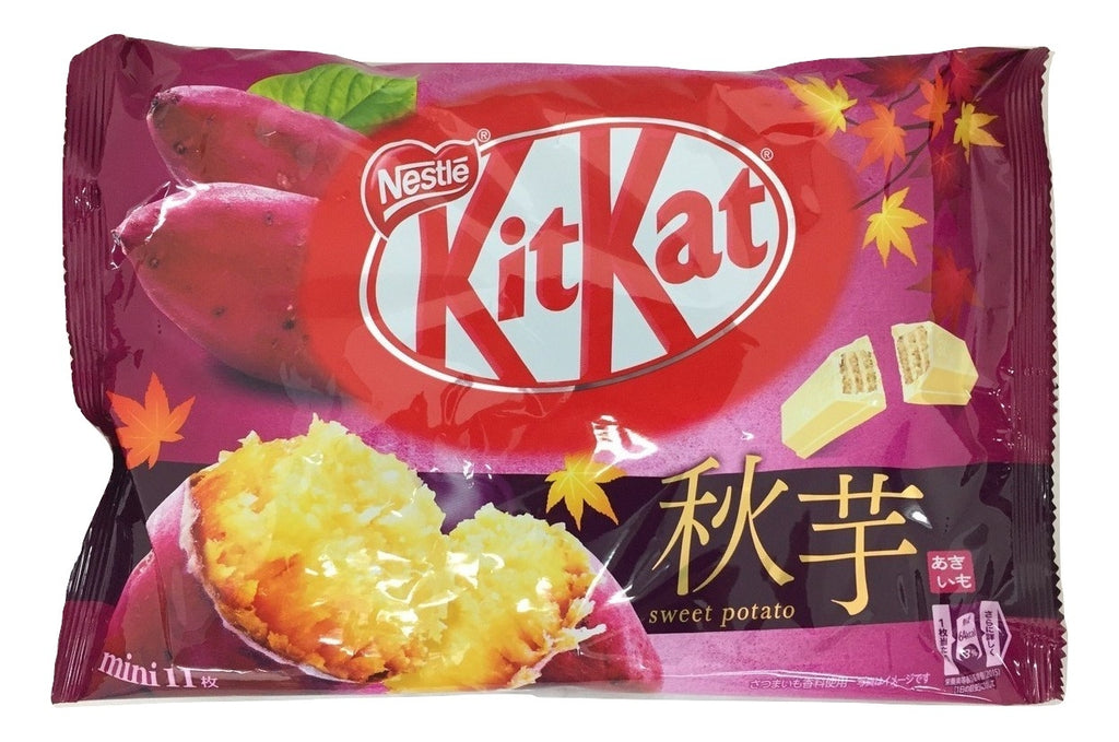 Japanese kit kat Sweet potato flavor