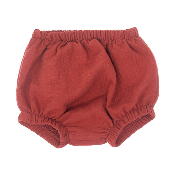 Brick Cotton Knickers
