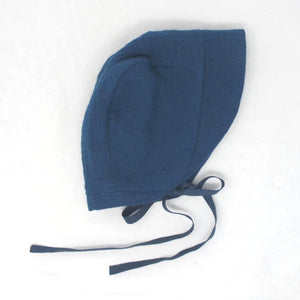 Cotton Bonnet - Yale Blue