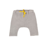 Trouser in Grey Linen