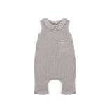 Playsuit in Grey Linen