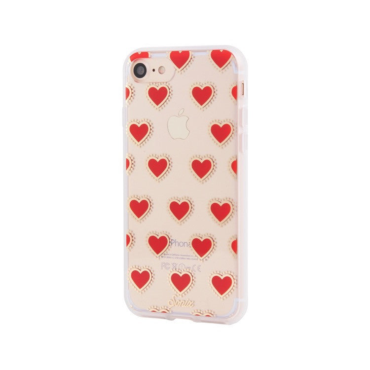 half off 18027 0a466 Sonix Clear Coat for iPhone 8/7 - Gypsy Heart