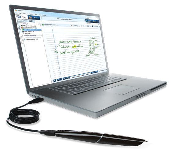 New livescribe 8gb echo smart pen for pc mac laptop on popscreen.