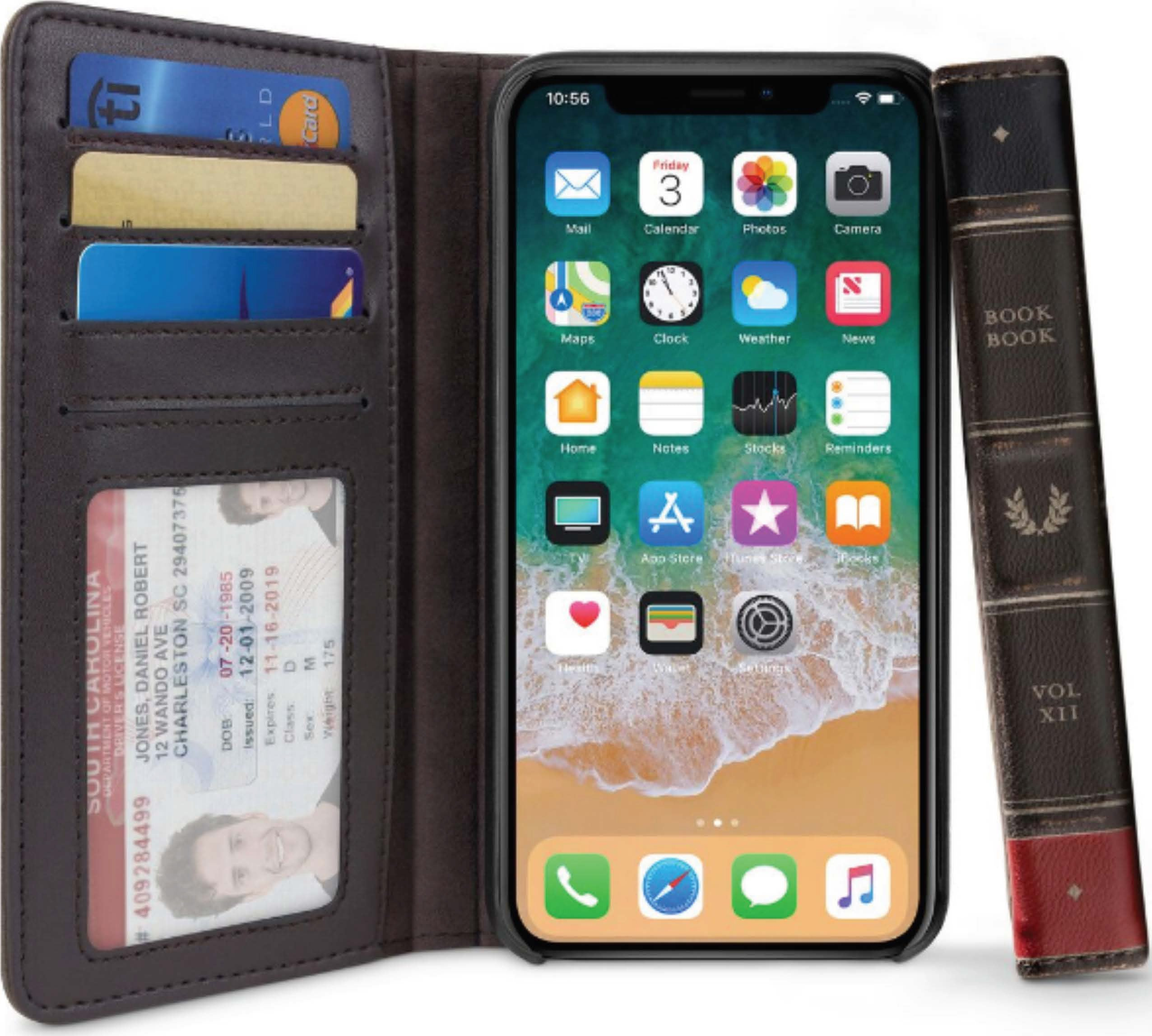 hot sale online 21009 d8255 Twelve South BookBook for iPhone XS Max